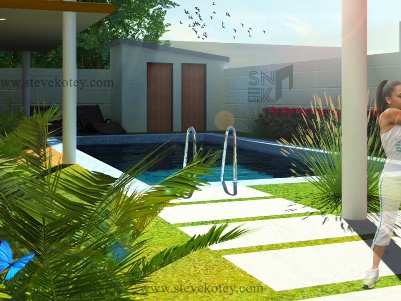 Extension d_une maison à Hêvié-2