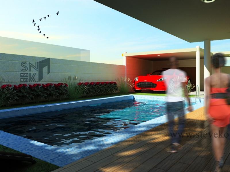 Extension d_une maison à Hêvié-4