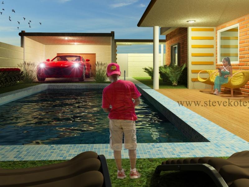 Extension d_une maison à Hêvié-5