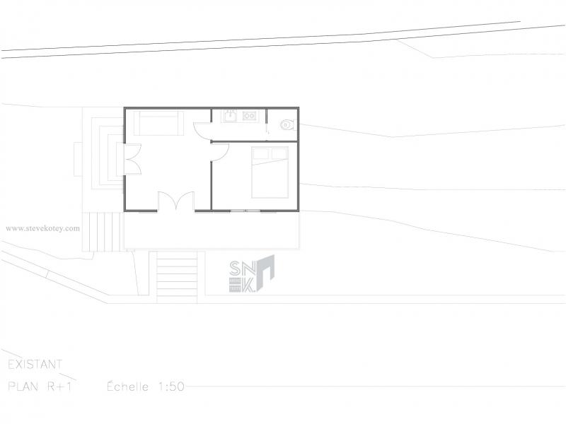 Plan existant Etage