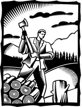 workin man axe