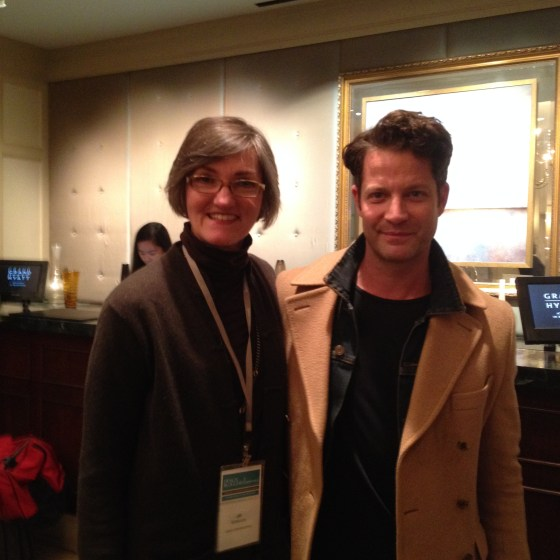 Jill grabbing a quick pic with THE Nate Berkus before DBC began.