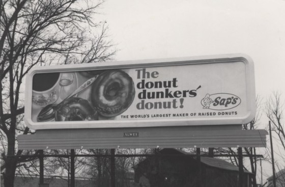 Sap's donuts billboard