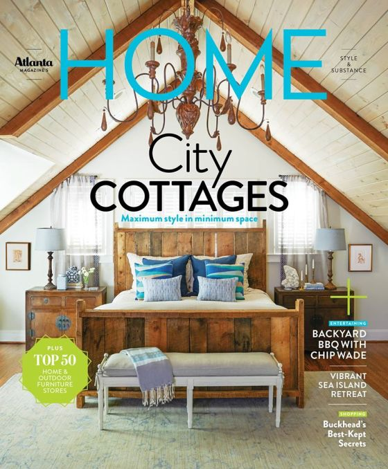 Steve's bedroom design made the cover!