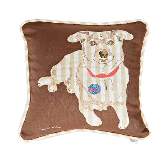 dog, gift, pillow, art,