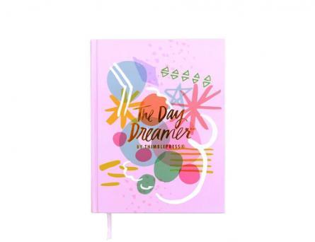 journal, Thimblepress, pink, book