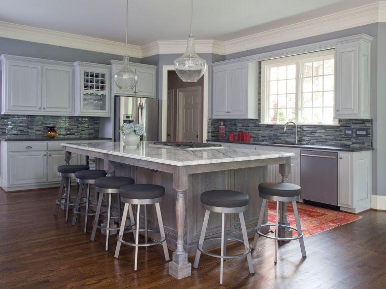 Fraser After, atlanta kitchen, large kitchen remodel, modern kitchen