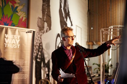 Opening night of 'Orphans' Exhibition. 17th October 2014 Photograph ©Oliver Rudkin