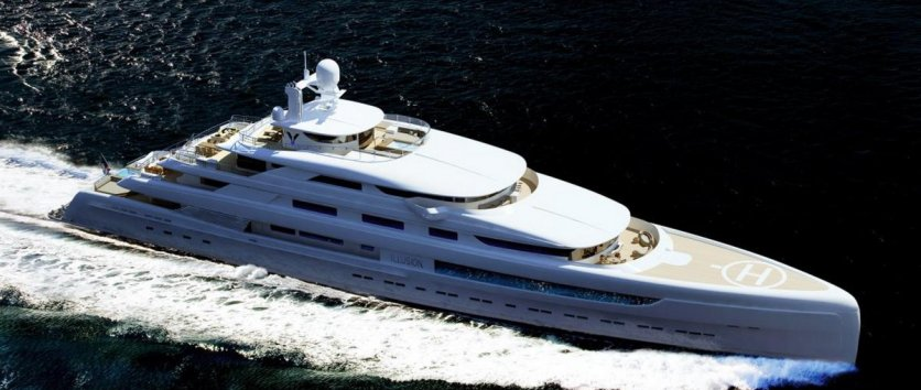 This is mega yacht #18
