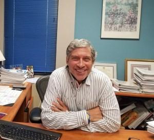Steve at University Office 2018