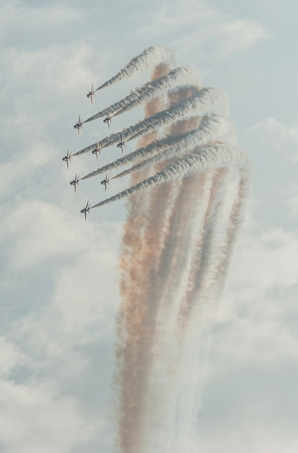 Red Arrows Diamond