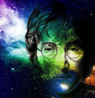 John Lennon lyrics to Across the Universe