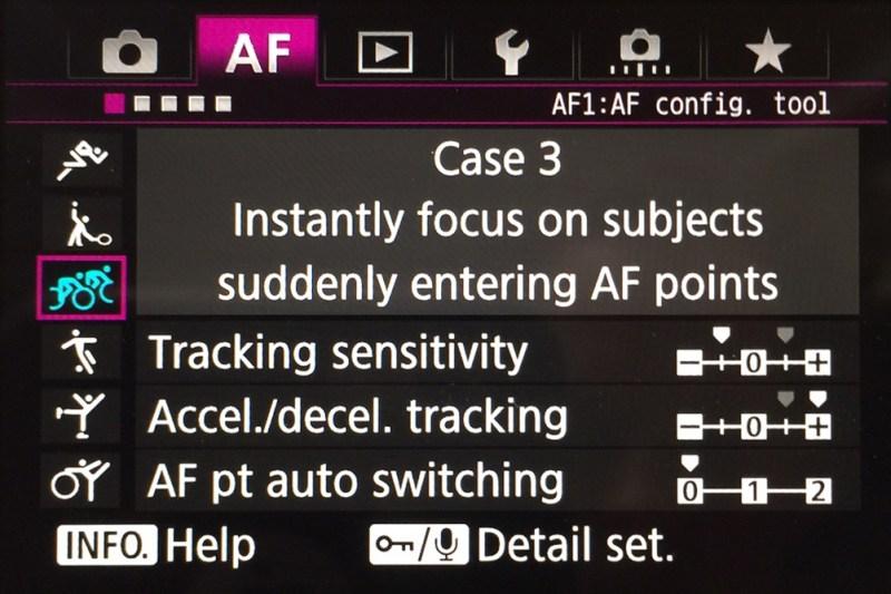AF settings_Canon 1dX mark II