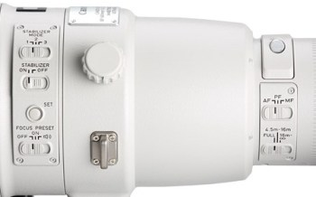 Canon 600mm f4 L IS II USM - IS modes