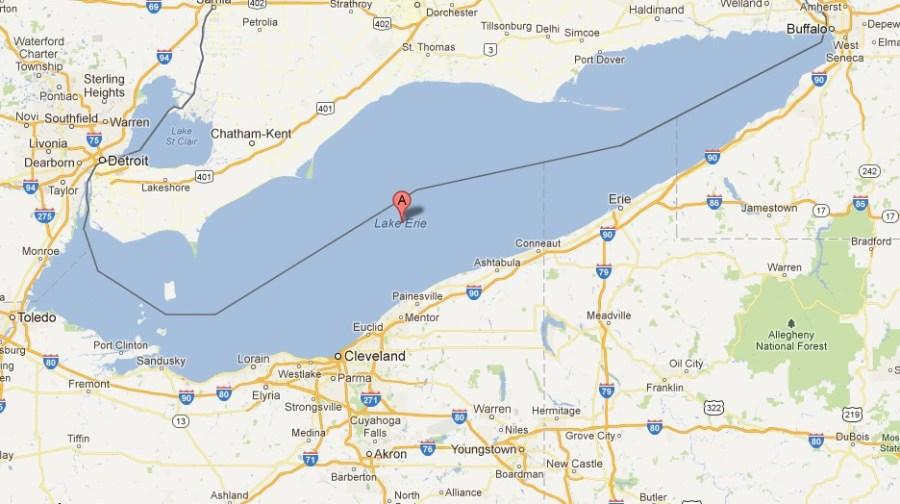 Lake Erie USA