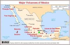 Map Mexican transvolcanic belt