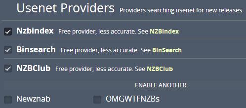 couchpotato usenet providers
