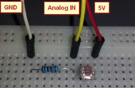 Arduino wiring diagram ldr