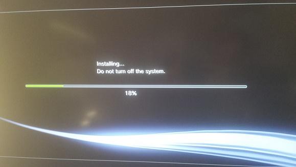 PS3 Installing Custom Firmware