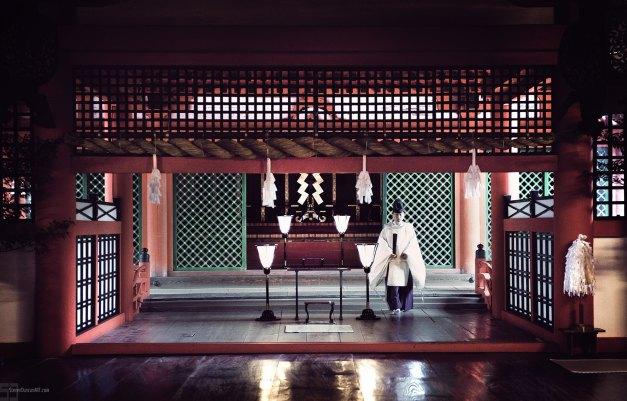 Shinto Priest