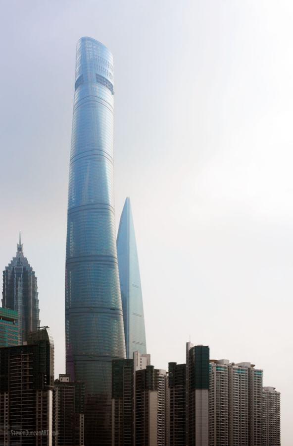 New Shanghai Tower