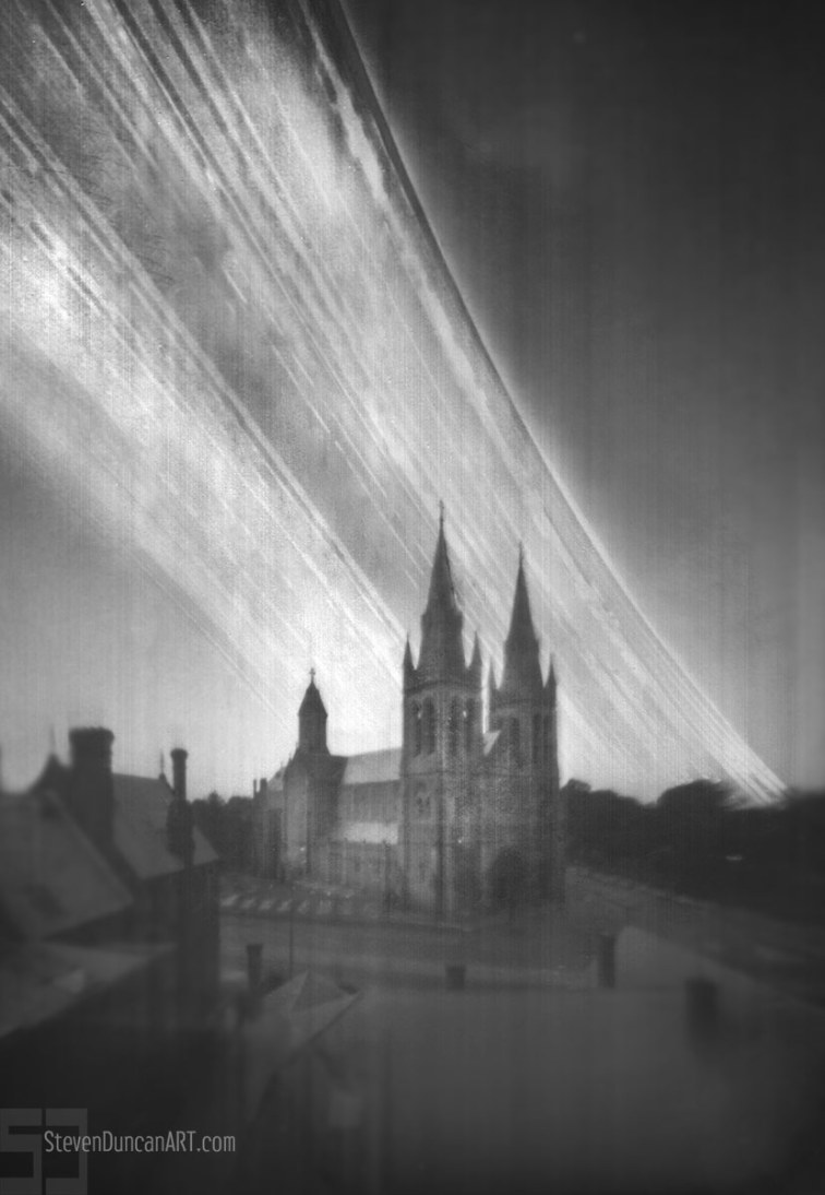 St Pauls Cathedral Solargraph