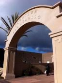 San Leandro arch