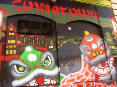 SF Chinatown mural