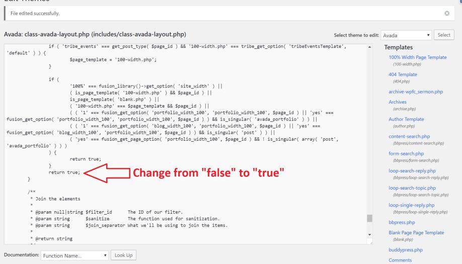 Use Javascript to Add New Class to WordPress Element
