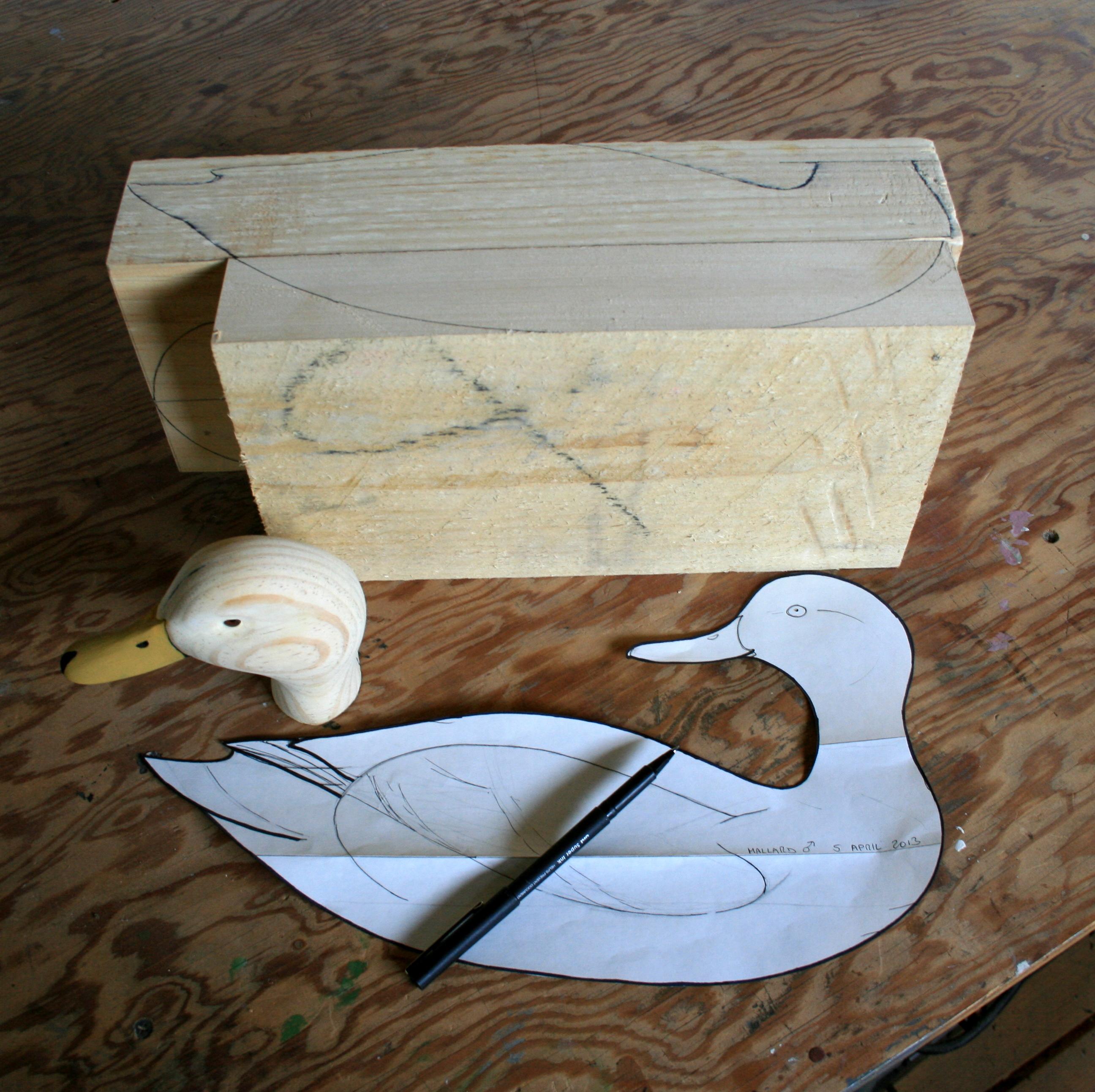 Carving a mallard body tutorial steven jay sanford