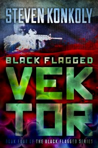 Black Flagged Vektor
