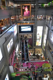 MBK Mall. This behemoth 8 story mall focuses mainly on local branded goods with a great (local) food court.