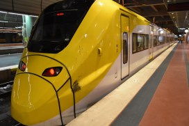 The Arlanda Express train.