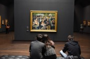 This is perfect way to enjoy a beautiful painting. I couldn't stand the selfie stick crowds at some of the more famous works.