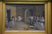 One of Degas's many ballet paintings
