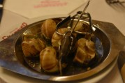 Of course I had escargot. Yummy and only about 6.8€