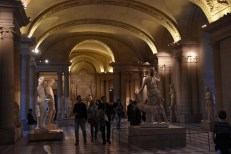 Going through the Roman statue section. Wow!