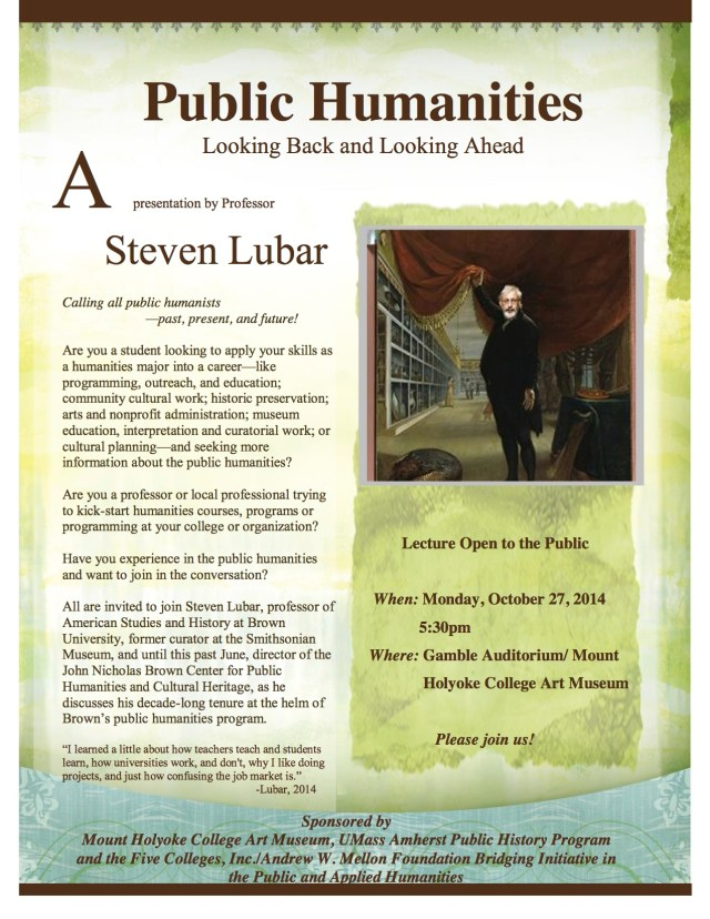 StevenLubar_PublicHumanitiesLecture