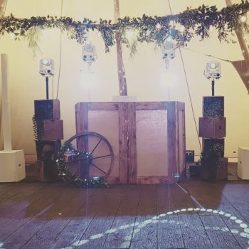 Rustic Setup at Woodhill Hall Tipi