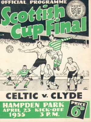 celtic v clyde april 23rd 1955