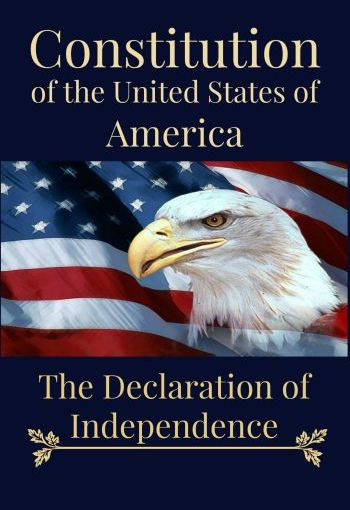 The Constitution of the United States. The Declaration of Independence. Now on Amazon for $7.76