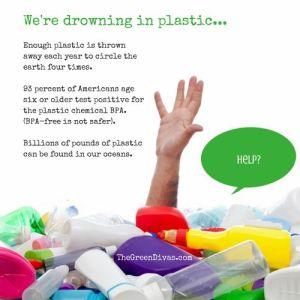 Where do all the plastic water bottles go?