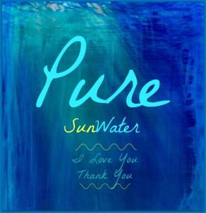 pure sun water