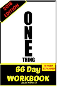 One Thing Workbook
