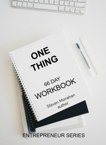 one thing 66 DAY WORKBOOK -