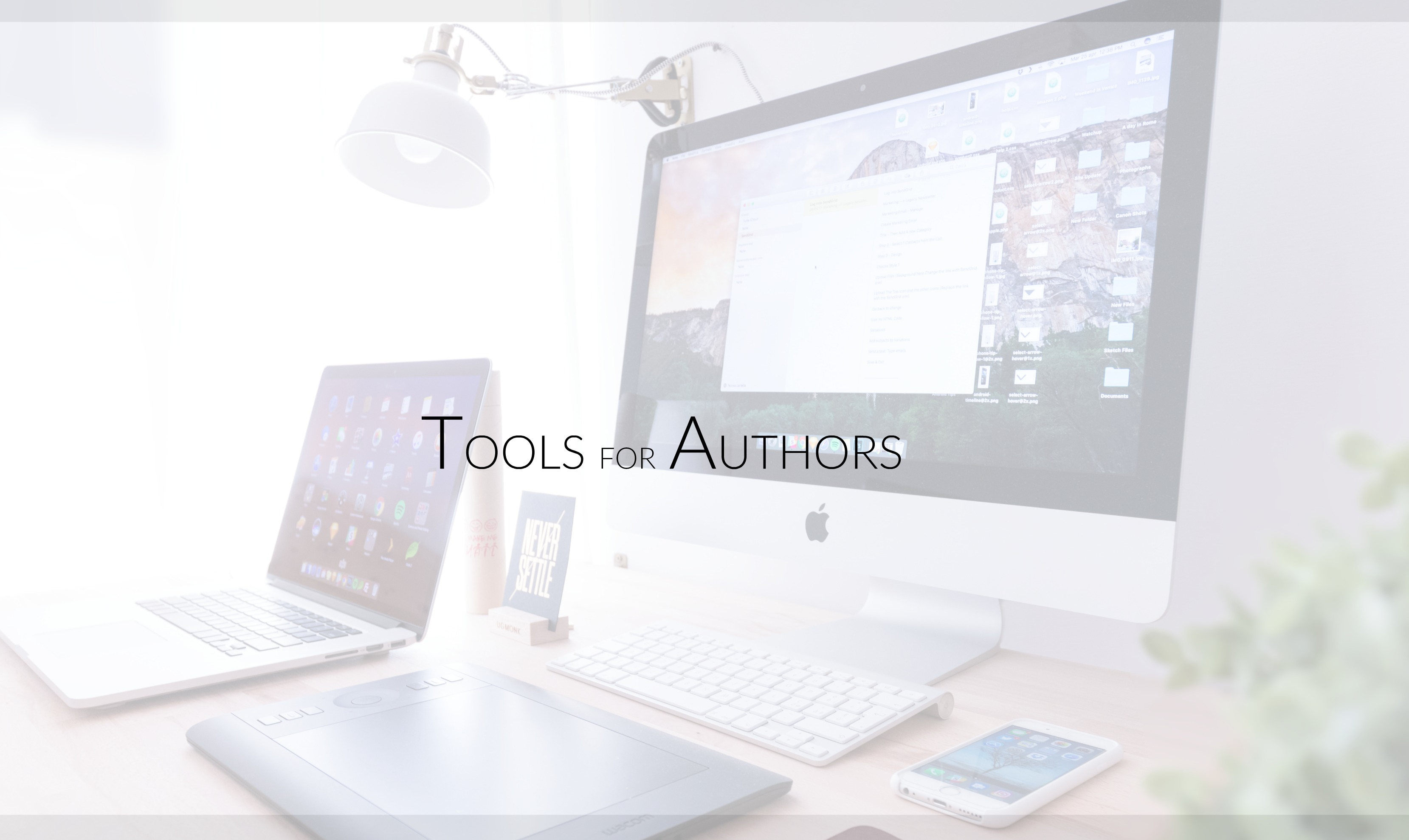 STEVEN MONAHAN TOOLS FOR AUTHORS
