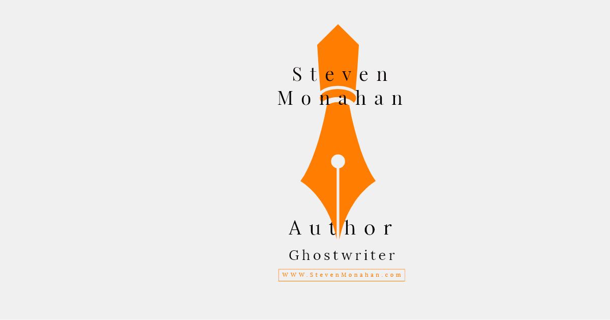 steven monahan Author Logo Wide