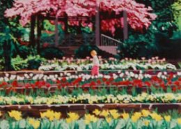 Sarah P. Duke Gardens limited edition lithograph by Steven Ray Miller Durham NC artist