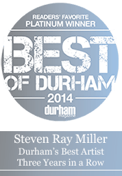 Steven Ray Miller Best Artist Durham NC 3 years in a rom