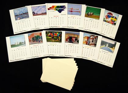 2017 Desk Calendar refill 5 pack